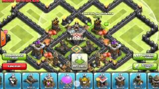 getlinkyoutube.com-Th 9 dark elixir farming base