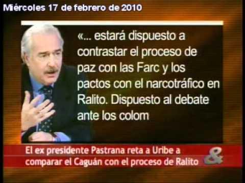 Pastrana llama consigliere de Pablo Escobar GAVIRIA a José Obdulio GAVIRIA VÉLEZ