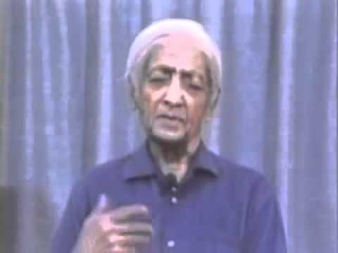 Krishnamurti - Brockwood Park 1984 - Italiano Talk 3