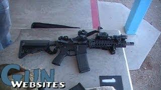 "getlinkyoutube.com-10.5"" AR15 w/ Brake @ 50 yds"