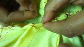 getlinkyoutube.com-How To Do Smocking (Box Style) By Rose