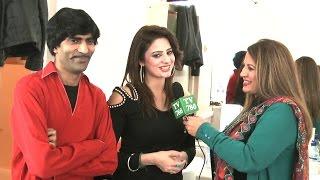 getlinkyoutube.com-Pakistani Punjabi Stage Drama Actor Sajjan Abbas & Afreen's Interview