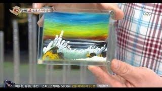 getlinkyoutube.com-[90초만에 완성되는 그림]  초스피드 손가락 화가 @놀라운 대회 스타킹 140208