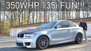 The Sunday Drive: Episode 08, 350WHP 2011 BMW 135i Review!