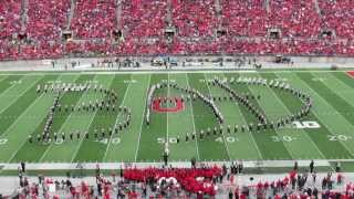 Ohio State Marching Band Michael Jackson Halftime Show 10 19 2013 vs Iowa TBDBITL