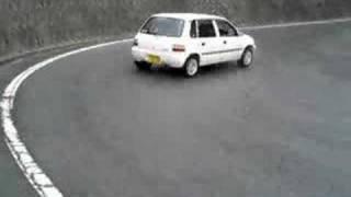 getlinkyoutube.com-SUZUKI cervo mode 4WD セルボ ドリフト