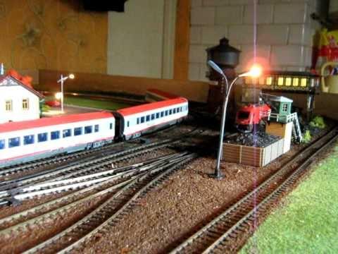 Makieta kolejowa po małej rozbudowie torów i stacji