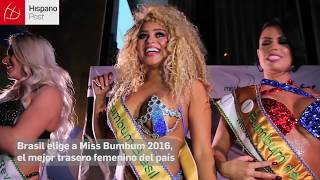 getlinkyoutube.com-Brasil elige a Miss Bumbum 2016, el mejor trasero femenino