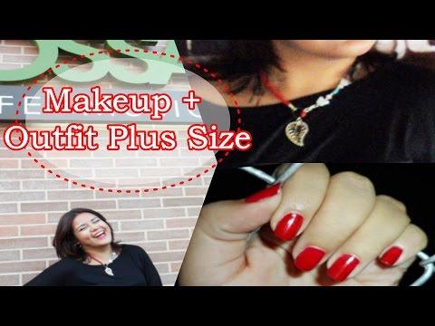 Makeup + Outfit Plus Size | Mente de Mujer por Carolina HD