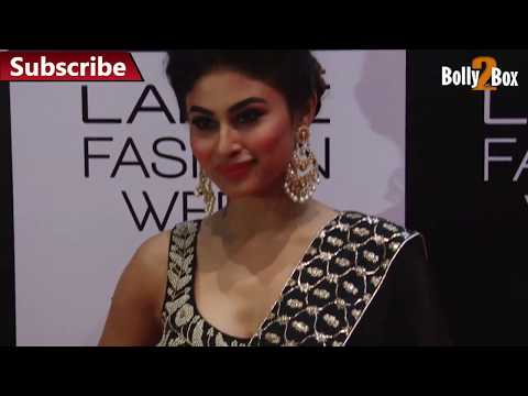 Mouni Roy in a lovely Loose Deep Neck Choli – HD Video