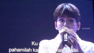 getlinkyoutube.com-160102 KRY Phonograph Jakarta - Ryeowook Solo Separuh Aku [Screen]
