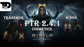 getlinkyoutube.com-Bone Wings, Bat Wings, and a slew of Transmog | D3 Cosmetic Items | PTR Patch 2.4.1 Diablo 3
