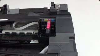 getlinkyoutube.com-How to remove the print-head from Epson inkjet printer XP300 WF2530 WF2540 XP400 and others