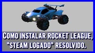 getlinkyoutube.com-TTR - Instalando Rocket League, erro (steam logado) resolvido