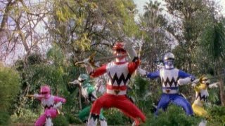 Power Rangers Lost Galaxy - First Morph and Fight (Power Rangers vs Furio)
