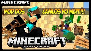 getlinkyoutube.com-Mod Dos Cavalos!!! - Minecraft Pocket Edition