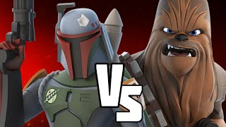 getlinkyoutube.com-BOBA FETT VS CHEWBACCA - Disney Infinity BATTLES!