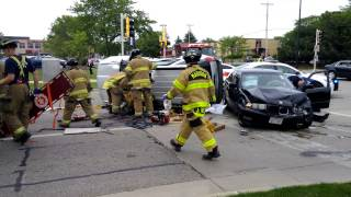 Madison Fire Dept. uses jaws of life