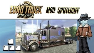 getlinkyoutube.com-Euro Truck Simulator 2 Mod Spotlight - Kenworth w900 Long