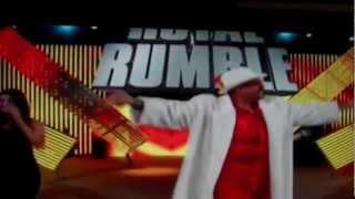getlinkyoutube.com-WWE Royal Rumble 2013- The Godfather Returns!.