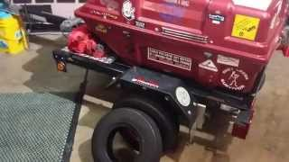 getlinkyoutube.com-Harbor Freight pull behind motorcycle trailer modification