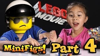 getlinkyoutube.com-LEGO MOVIE MINIFIGURES!!! Box of Blind Bags Opening - PART 4