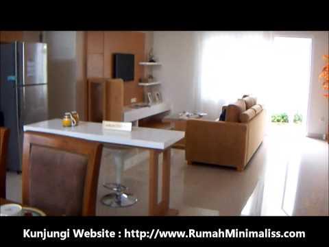 Interior Rumah Minimalis Ruang Tamu, Keluarga dan Dapur