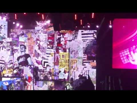 ONE DIRECTION konsert sverige(SWEDEN) 2013