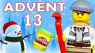 getlinkyoutube.com-Toy Advent Calendar Day 13 - - Shopkins LEGO Friends Play Doh Minions My Little Pony Disney Princess