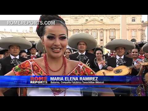 Grupo de Mariachis celebra su 25 aniversario visitando el Vaticano