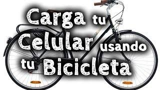 getlinkyoutube.com-Cómo cargar tu teléfono con tu bicicleta