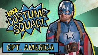 Make Your Own Captain America Costume - DIY Costume Squad