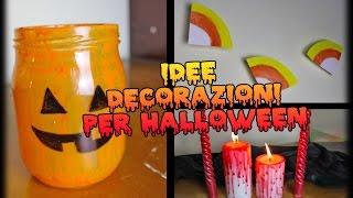 getlinkyoutube.com-IDEE DECORATIVE PER HALLOWEEN - Candele, festoni, e lanterne