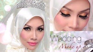 getlinkyoutube.com-Wedding Day Make Up - Sendayu Tinggi Make-up Tutorial