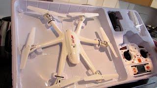 getlinkyoutube.com-MJX X600 Hexacopter Drone - Unboxing & Flight Test