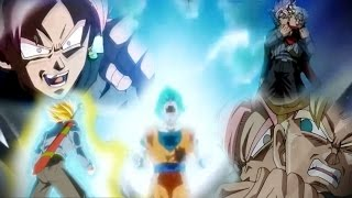 Dragon Ball Super 61「AMV」– Goku SSJ Blue VS Black Goku SSJ Rose – Trunks SSJ Blue ?