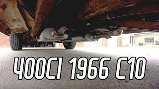 getlinkyoutube.com-Chevy C10 Exhaust Work: Ike's Adventures