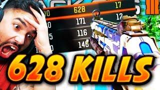 "WORLDS MOST KILLS in ""Black Ops 3"" 628 KILLS! - ULTIMATE NUKETOWN SPAWNTRAP!"