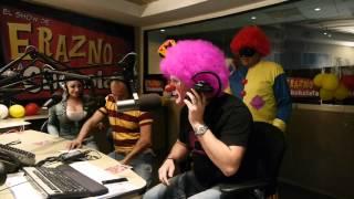 Se le cargo el Payaso a Platanito en el Show de Erazno y la Chokolata