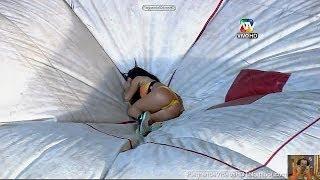 getlinkyoutube.com-Combate-20/05/2014-Prueba de valor-Paloma Fiuza salto al vacio