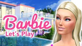 getlinkyoutube.com-Let's play The Sims 4 Barbie | Barbie Gives Birth | S0216