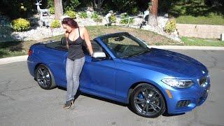 getlinkyoutube.com-New BMW M240I Estoril Blue / Exhaust Sound / 0 to 60 MPH in 4.5 Seconds / BMW Review