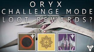 getlinkyoutube.com-Destiny: Oryx Challenge Mode Loot? / Kings Fall Oryx Challenge Encounter Objective?