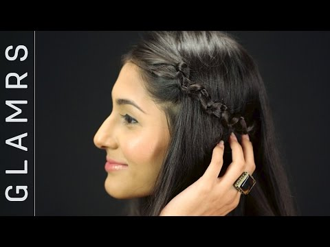 Quick & Easy 3 Minute Snake Braid Hair Tutorial | Glamrs Hairstyles