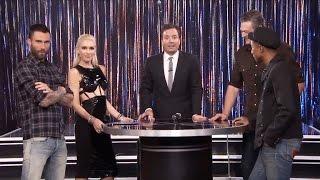 getlinkyoutube.com-Blake Shelton and Gwen Stefani Hilariously Duet to Drake's 'Hotline Bling'