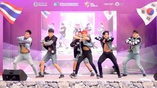 getlinkyoutube.com-151115 I Am Bazic cover MONSTA X - RUSH + HERO @Thailand Korea Friendship Festival 2015