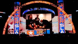 Don't Give Up Video at WWE Summerslam Live 2012