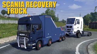 getlinkyoutube.com-ETS2 Scania Recovery Truck Mod