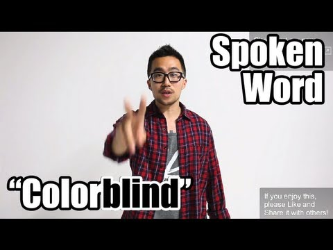 COLORBLIND (Response to media racism/racebending) // spoken word