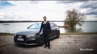 getlinkyoutube.com-La nuova Audi RS6 Avant fa i 305 km/h: ci abbiamo provato sulle Autobahn - German Autobahn Top speed